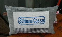 """Kissen """"Schimmi-Gasse"""" (klein)"""